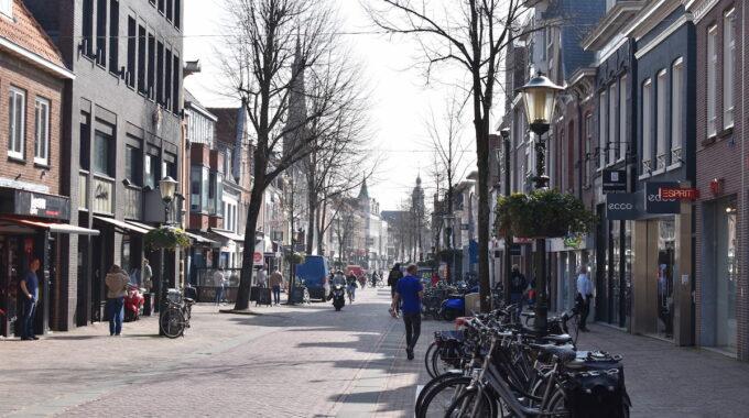 centrum binnenstad De laat winkelgebied winkelen shoppen alkmaar binnenstad winkelstraat