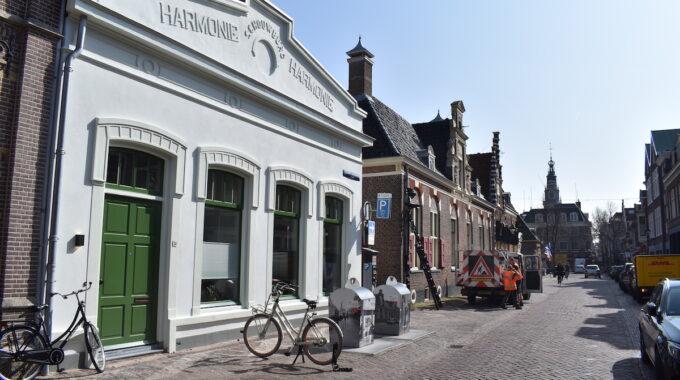 Gedempte nieuwesloot Alkmaar binnenstad harmonie centrum