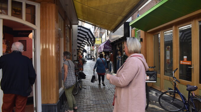 keurslager oude stad centrum winkelen boodschappen shoppen winkelstraat