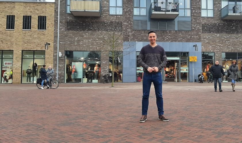 Martijn de Lange, community manager indebuurt Almelo