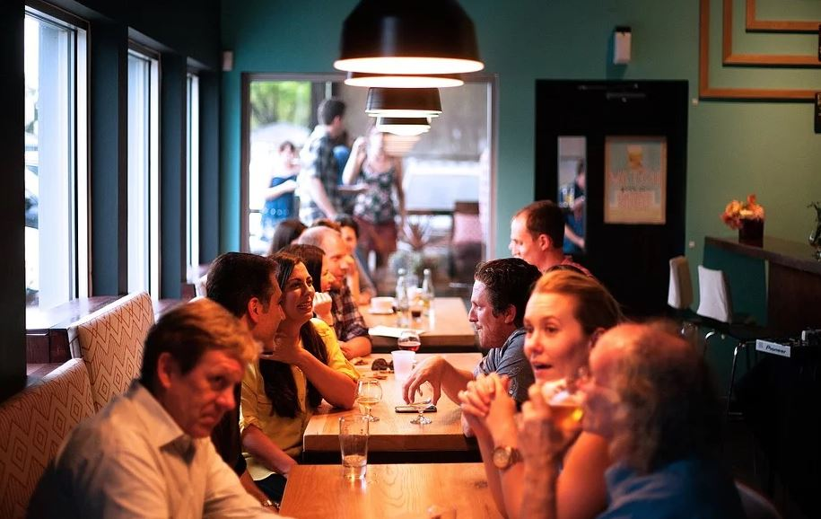 restaurant stockphoto