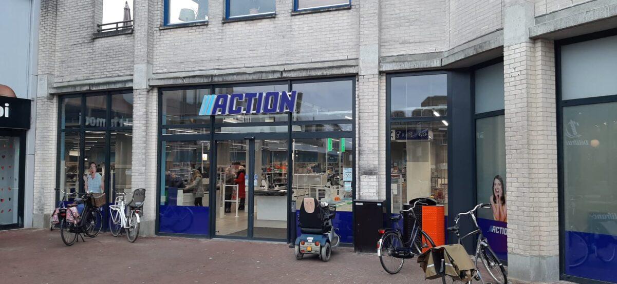 Action nieuw in Almelo