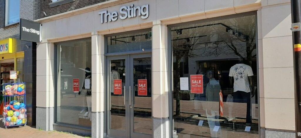 The Sting in Almelo dicht