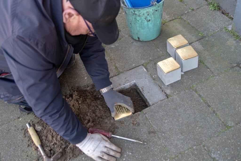 Stolpersteine geplaatst in Almelo