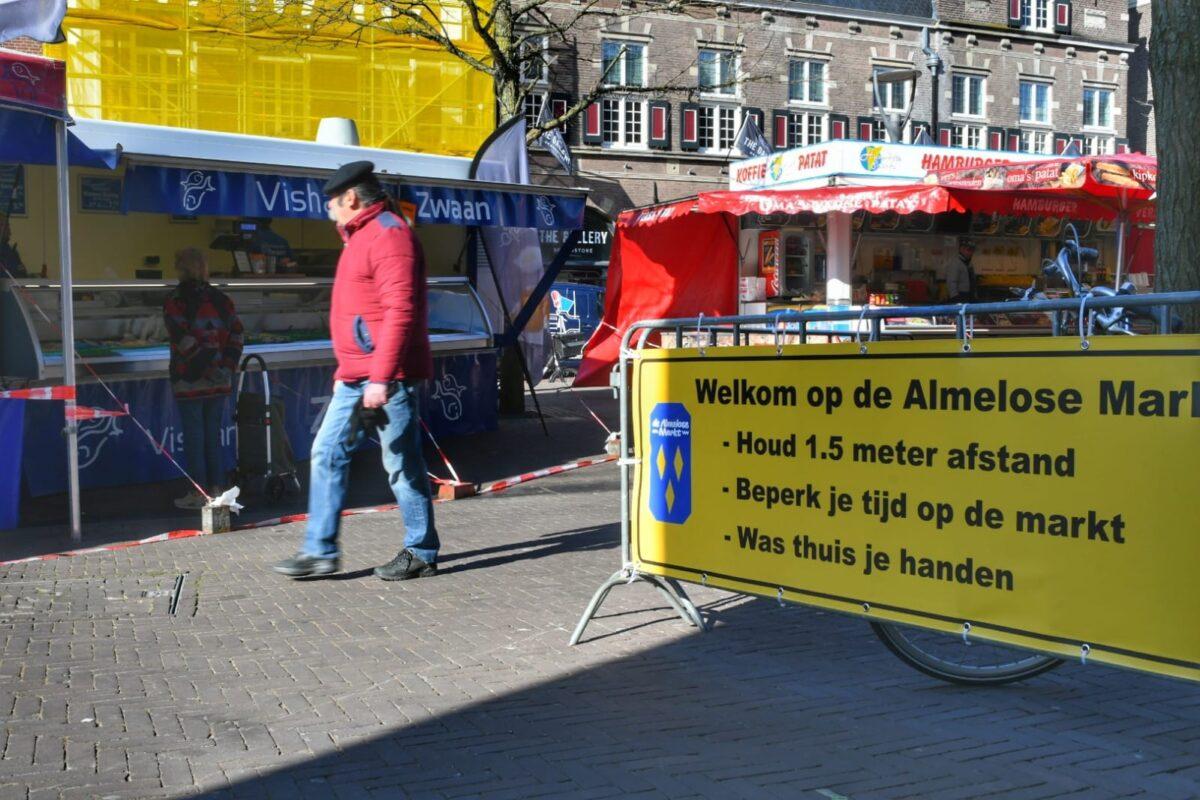 Markt Almelo 02-04-2020