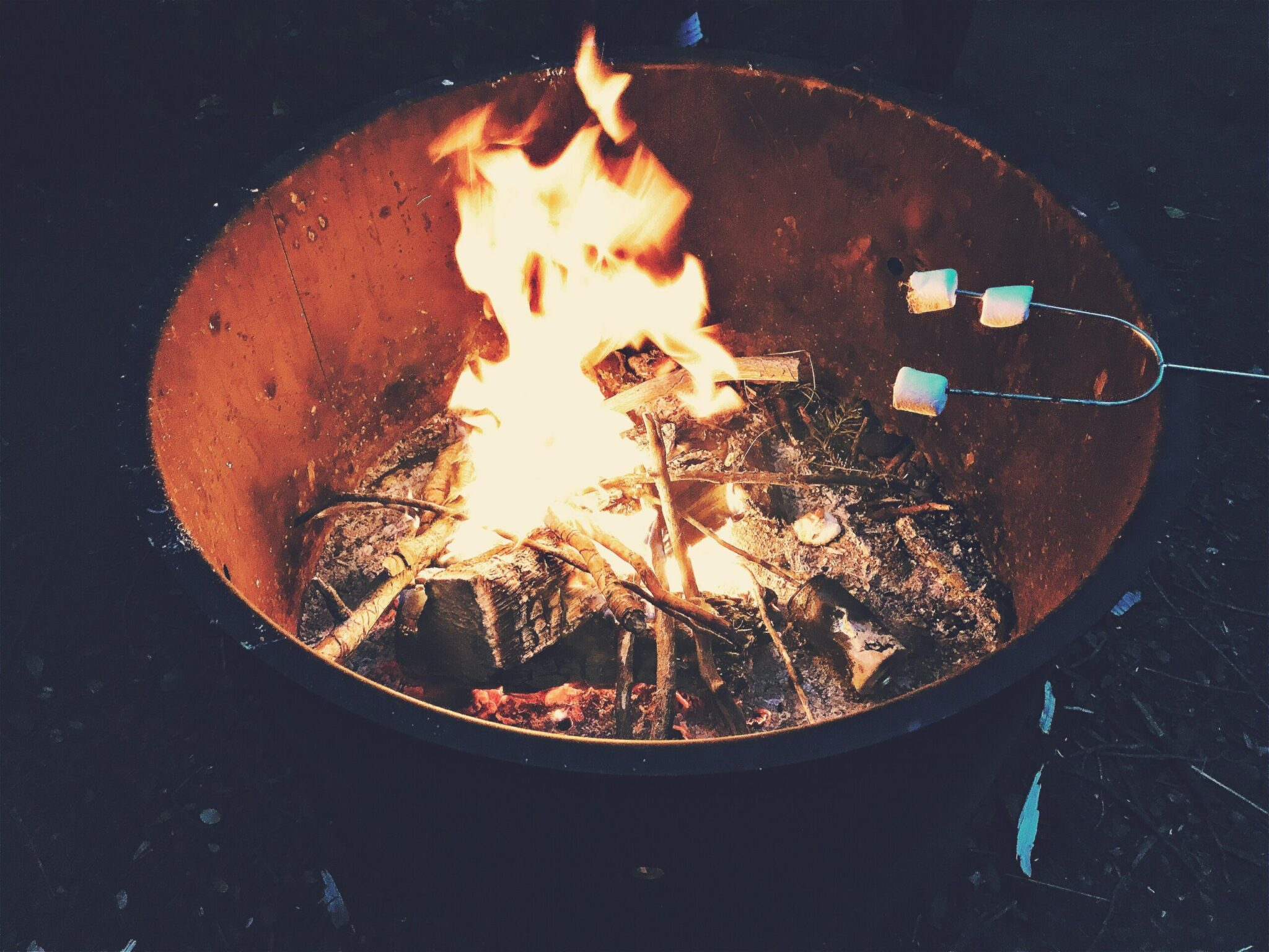 Vuurkorf barbecue as