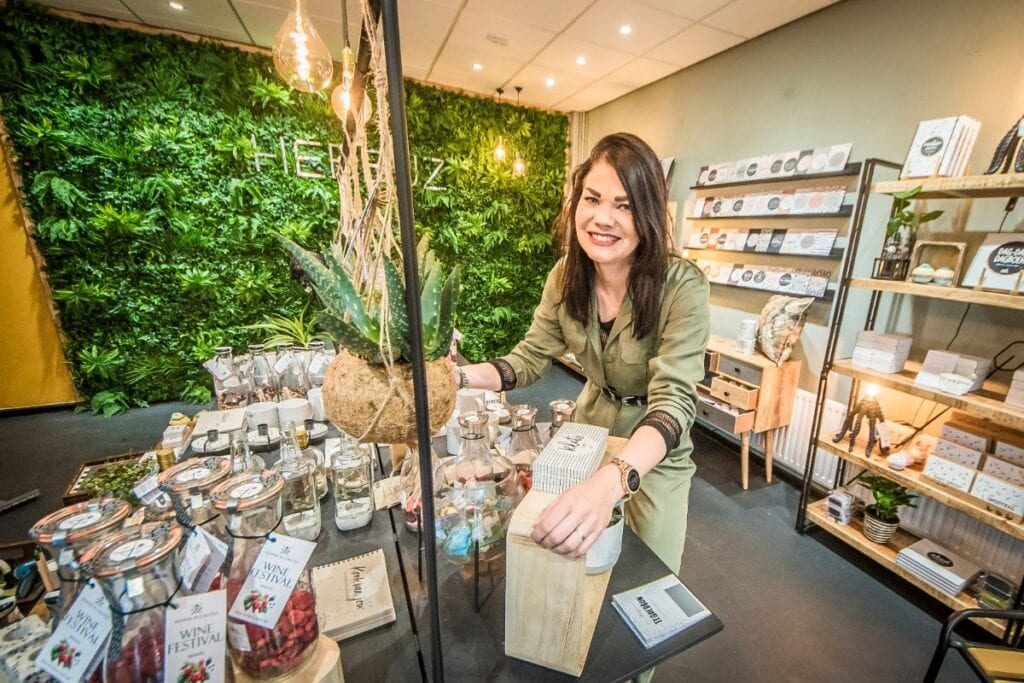 Sharona van Hebbuz Conceptstore in Almelo