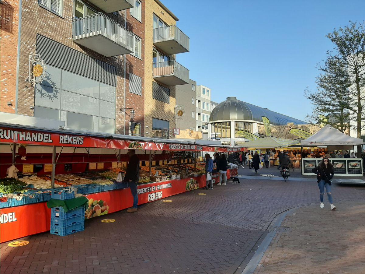 Markt uitgebreid corona Almelo