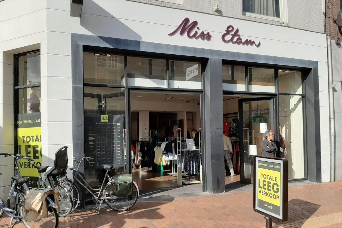 Miss Etam in Almelo gaat sluiten
