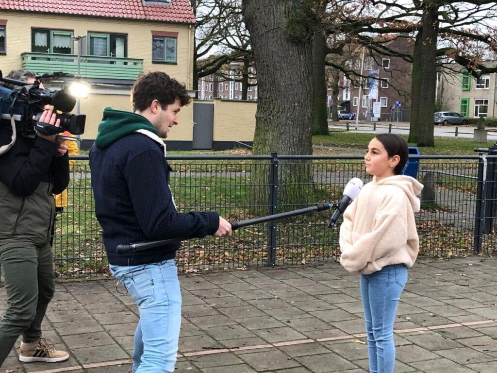 Opnames Jeugdjournaal in Almelo