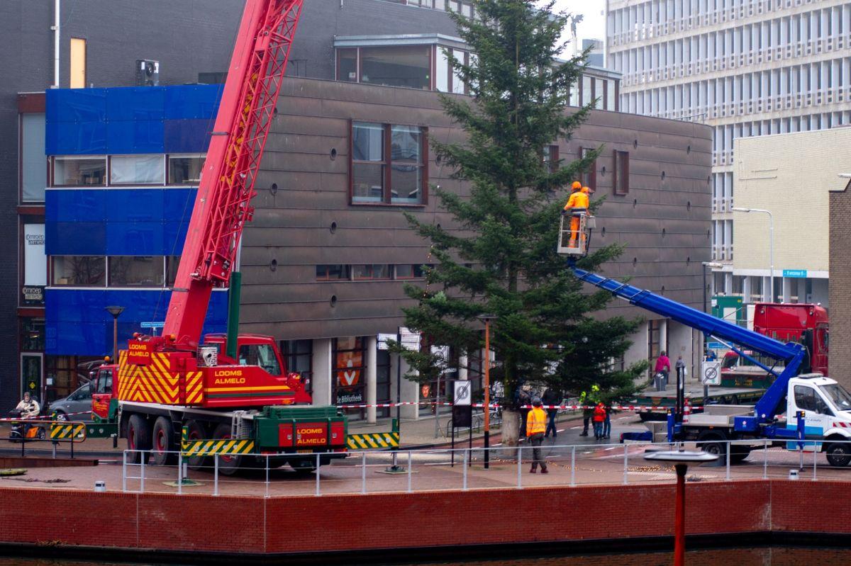 Kerstboom naar Almelo 2020