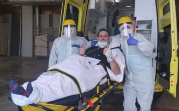 Ambulancebroeder overgeplaatst