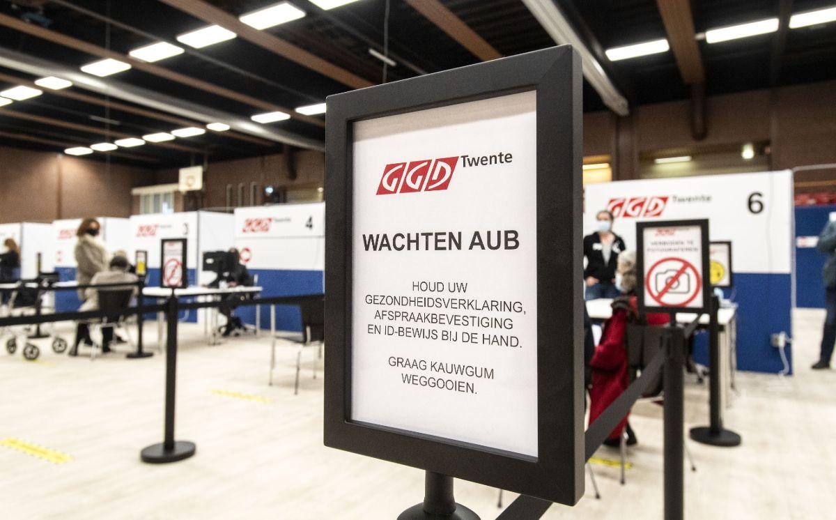 GGD vaccinatie-locatie in Almelo