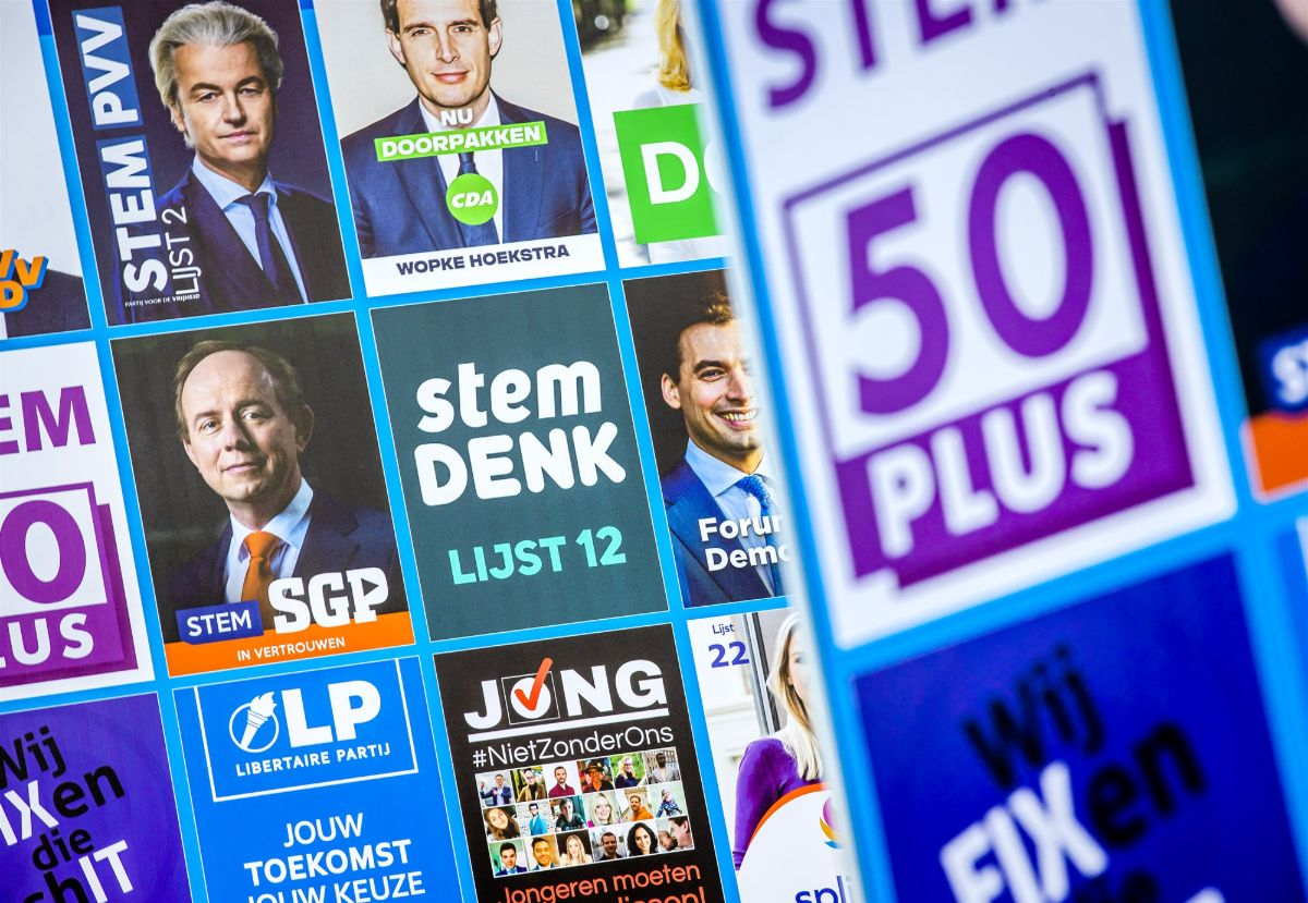 Verkiezingsposters Tweede Kamerverkiezingen