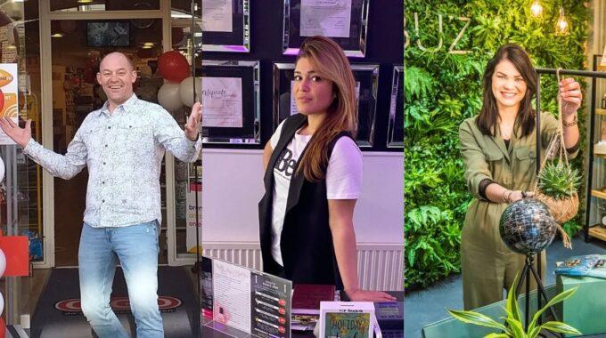 De drie genomineerden voor Beste Ondernemer van Almelo