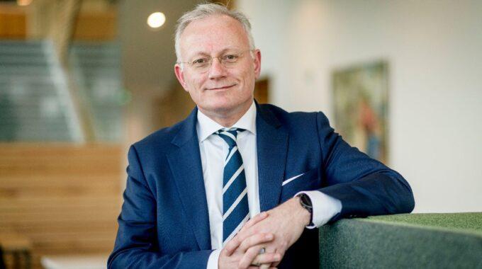 Burgemeester Arjen Gerritsen van Almelo