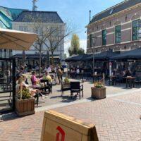 Terrassen zijn weer open in Almelo