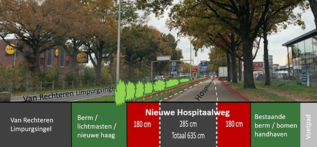 Hospital road and Bornsestraat in Almelo on the shovel: this will happen in the coming time