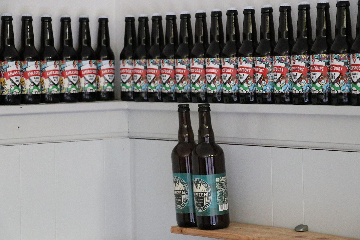 Bier bij Rock City Beers. Foto: Charella Hulsbosch