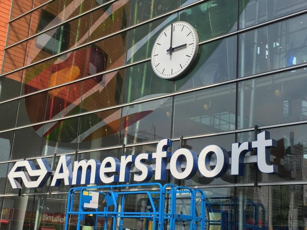Stationsklokken station Amersfoort