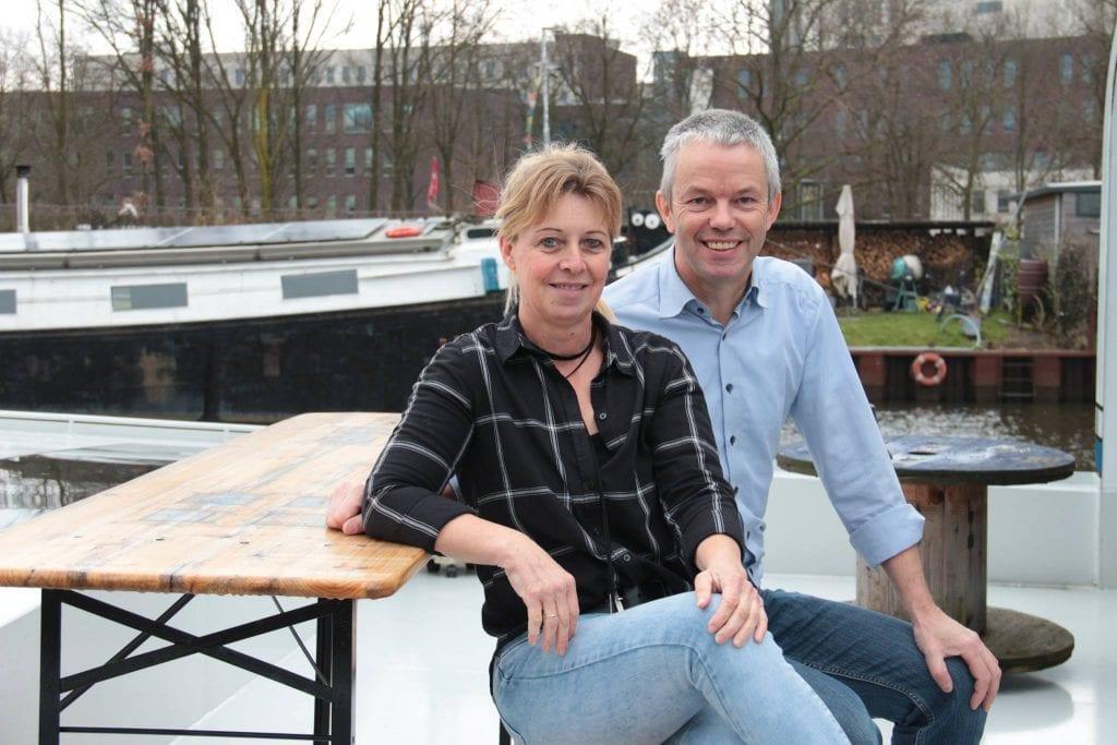 Woonschip Robbedoes in Amersfoort