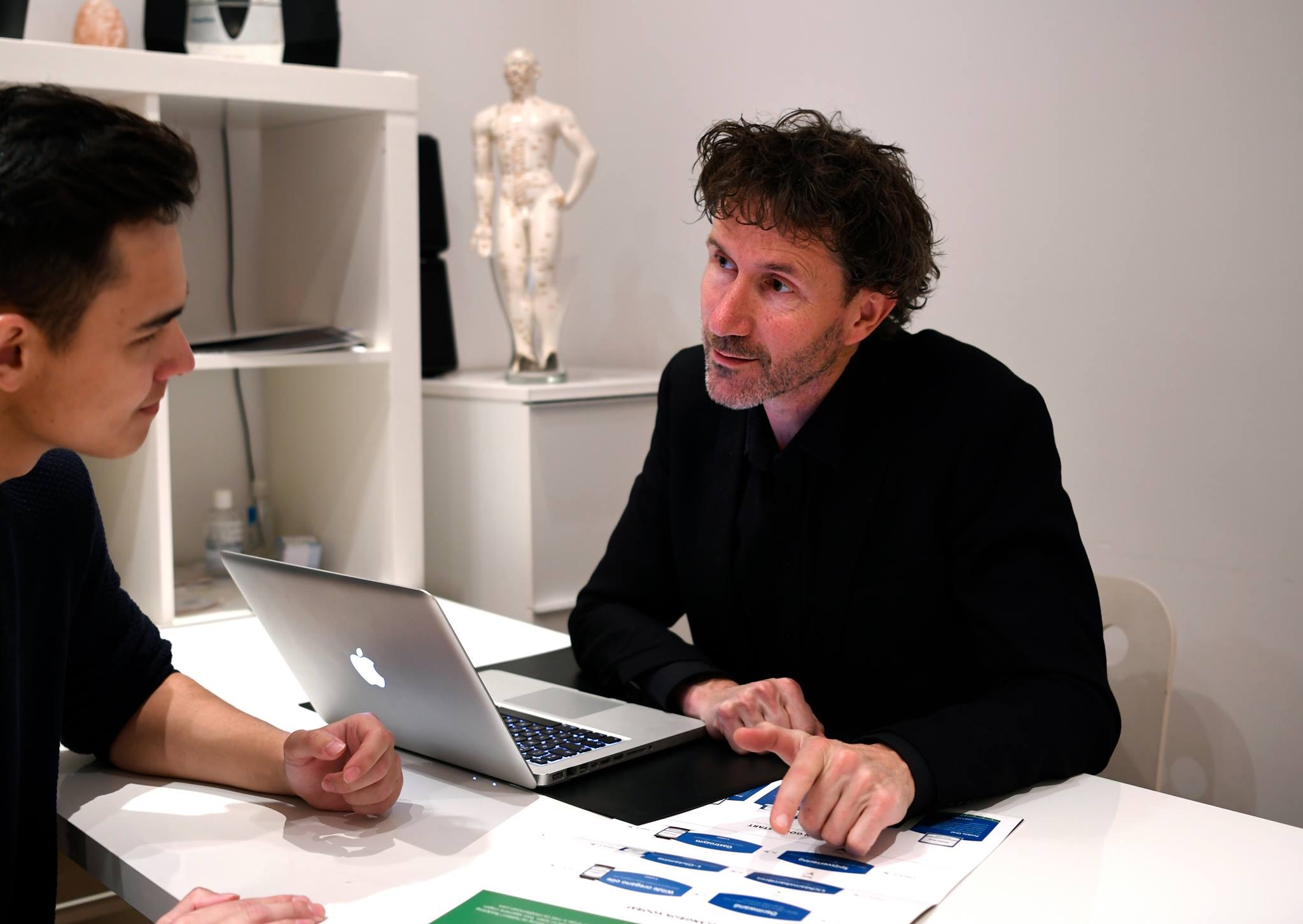 Bas van Dijk acupunctuur