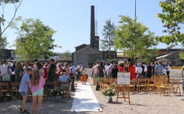 bruiloft op de Oliemolenhof