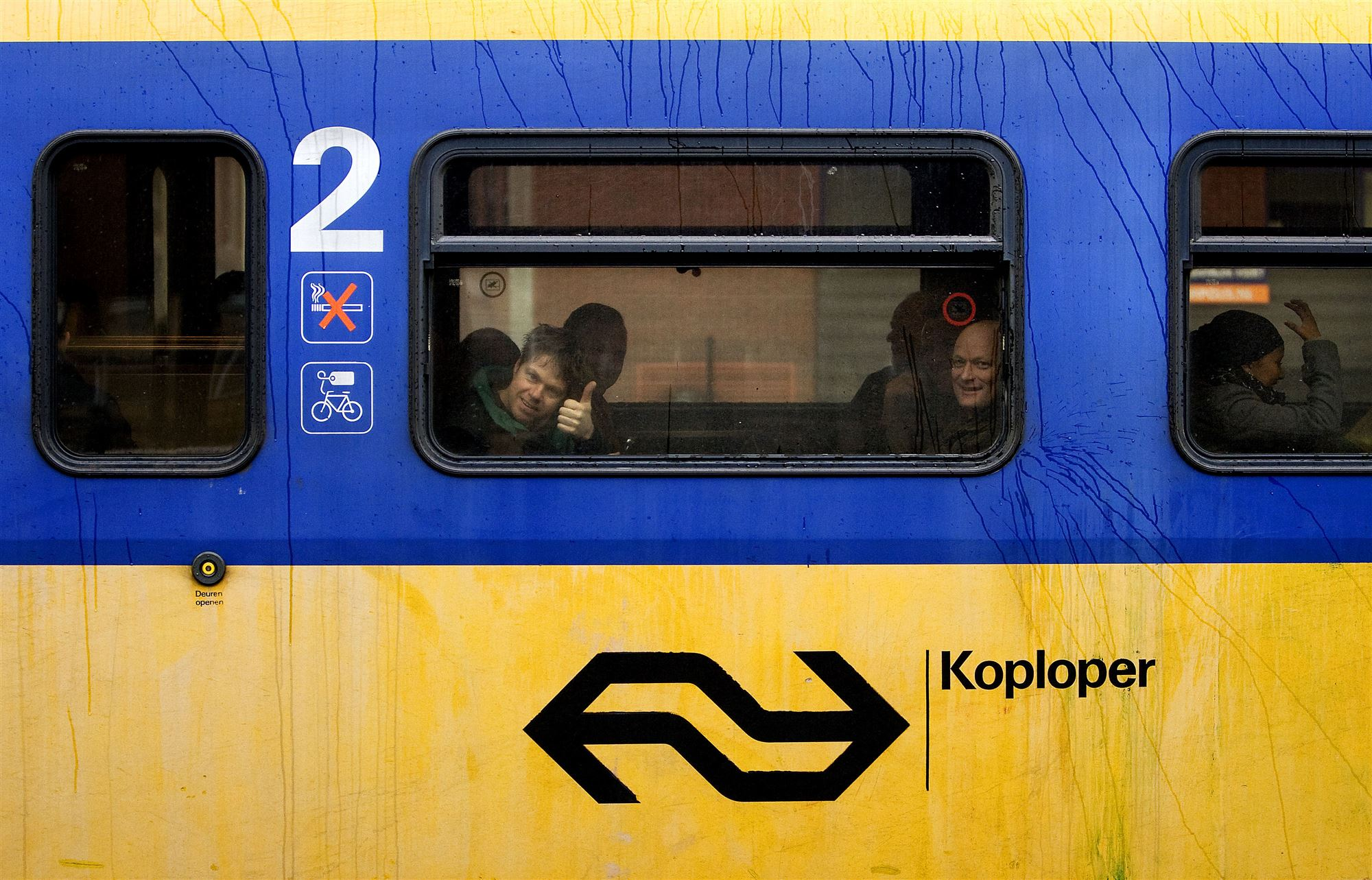 Geen treinen tussen Amersfoort en Hilversum