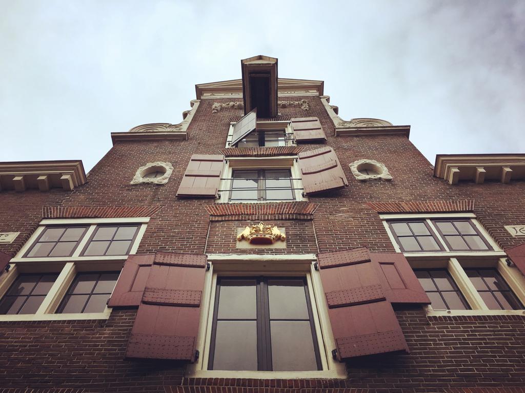 Het pand waar brouwerij De Kroon zat. Foto: Ingelise de Vries