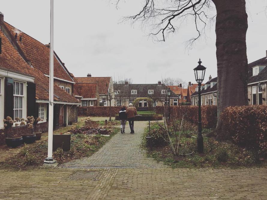 Hofje Armen de Poth. Foto: Ingelise de Vries