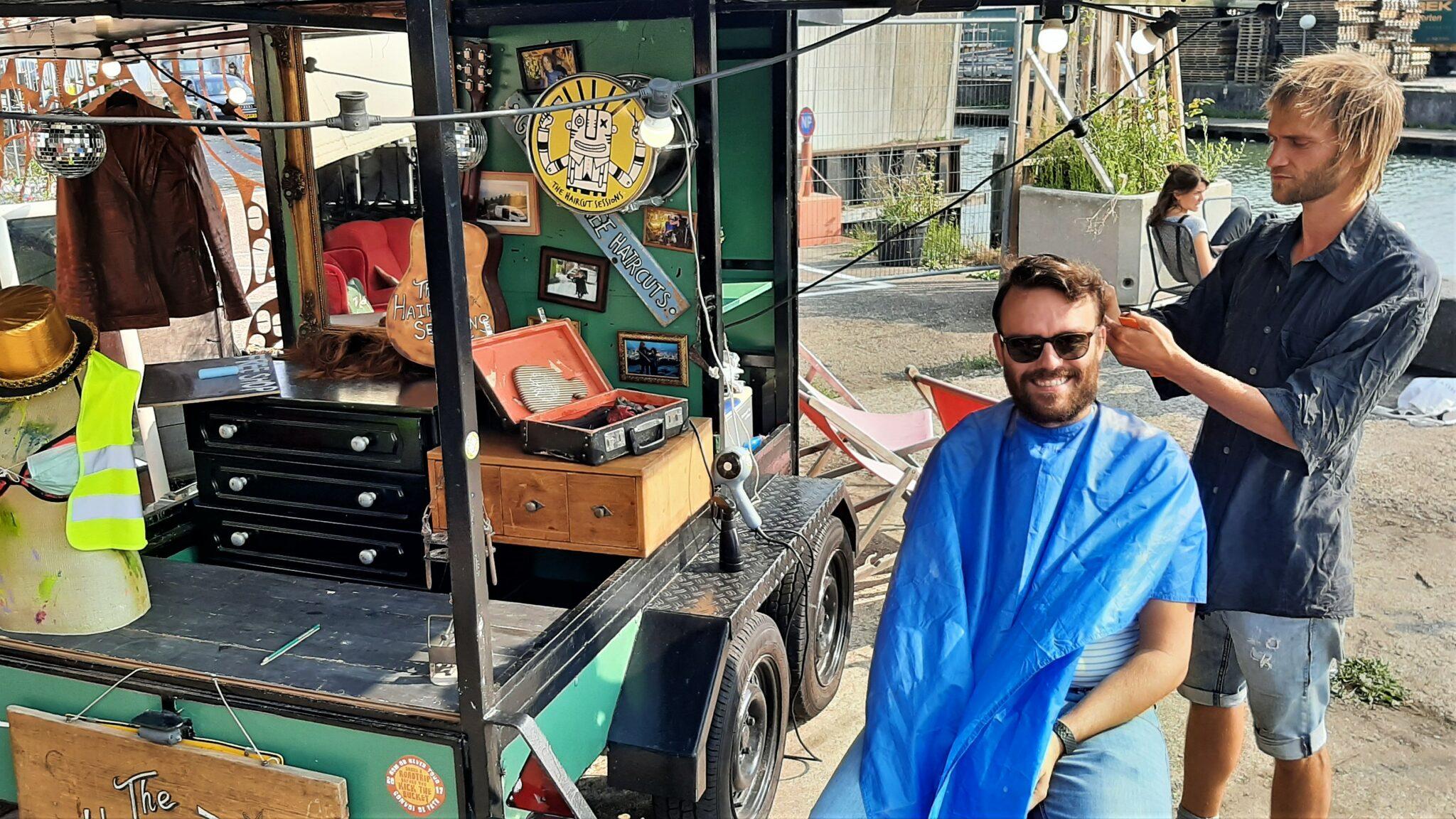 Patrick bij Haircutsessions