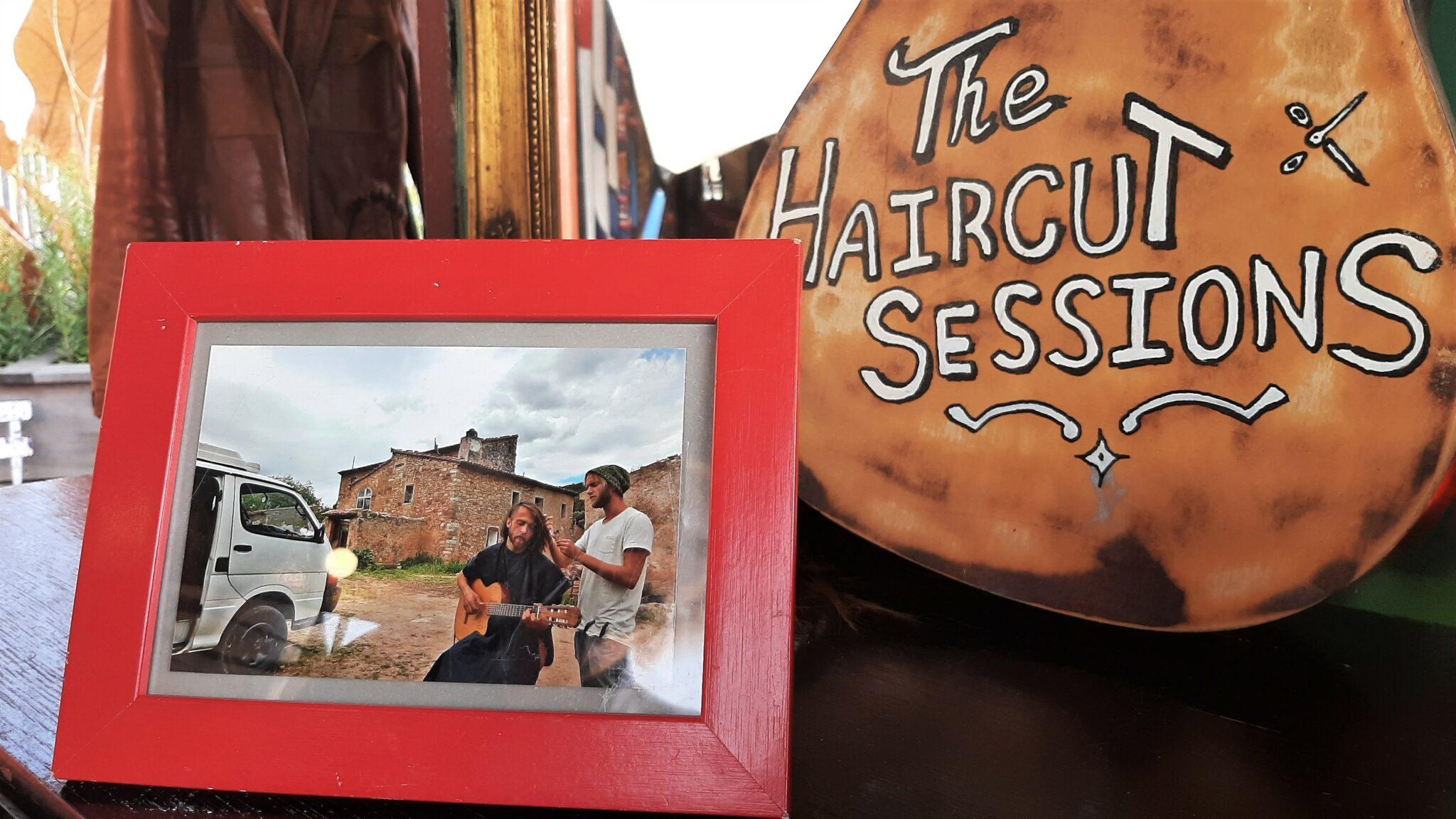 The Haircutsessions gitaar