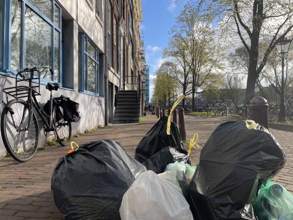 Afval Amsterdam vuilnis restafval