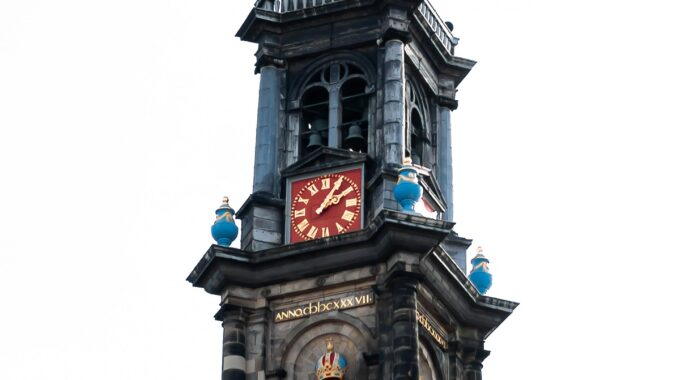 kerkklok westerkerk amsterdam