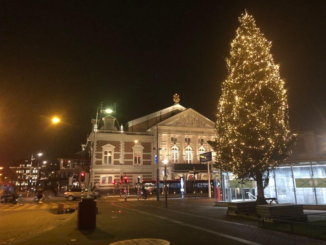 concertgebouw amsterdam kerst