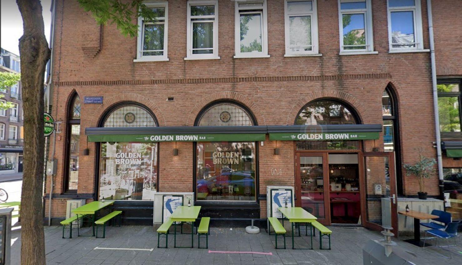 The Golden Brown Bar
