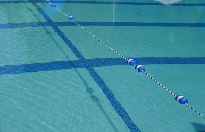 Zwembadvloer