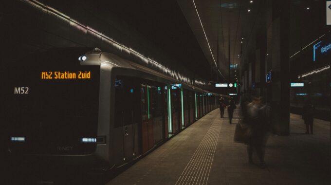 Storing metronetwerk Amsterdam GVB