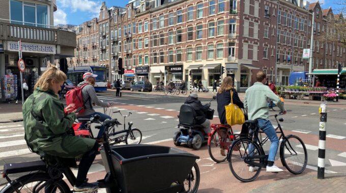 Kinkerstraat scholen fietsroutes
