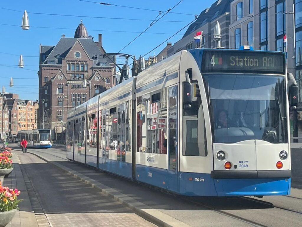 Versierde tram