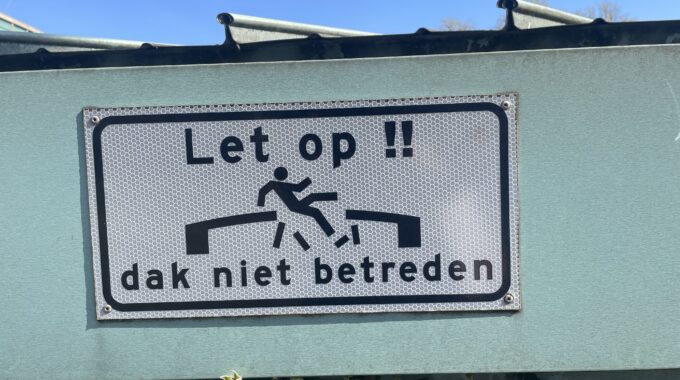 Verkeersborden Amsterdam