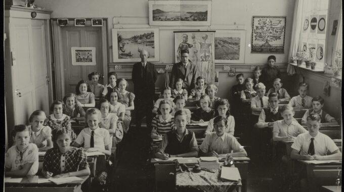 onderwijs klaslokaal Burghtschool