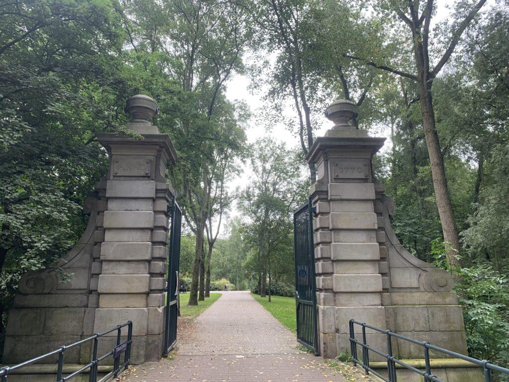 toegangspoort flevopark amsterdam oost