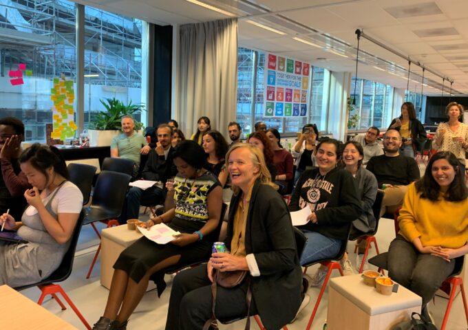 De Global Goals Jam van DSS | foto: Steven van de Looij van Brandweer Amsterdam Amstelland