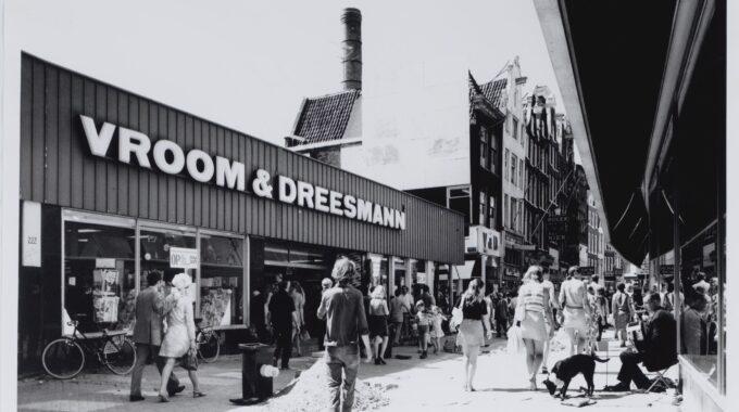 Gebouw Vroom en Dreesmann amsterdam