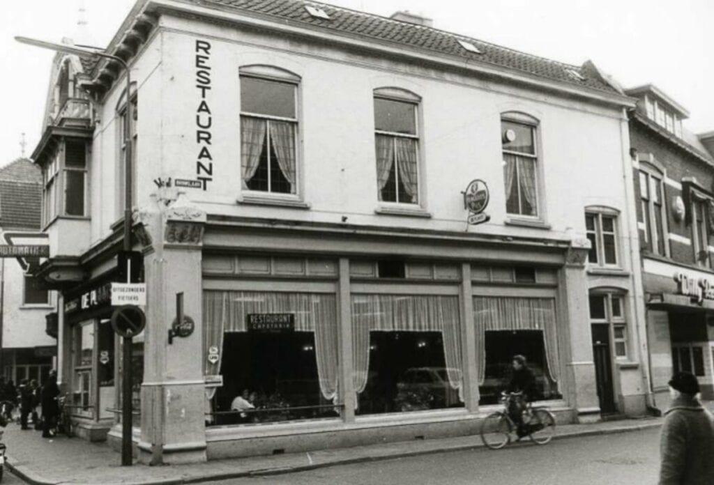 Restaurant Cafetaria De PLaats Hoofdstraat-Brinklaan - 1973 (1)