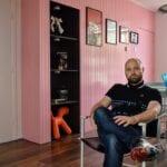 roze muren
