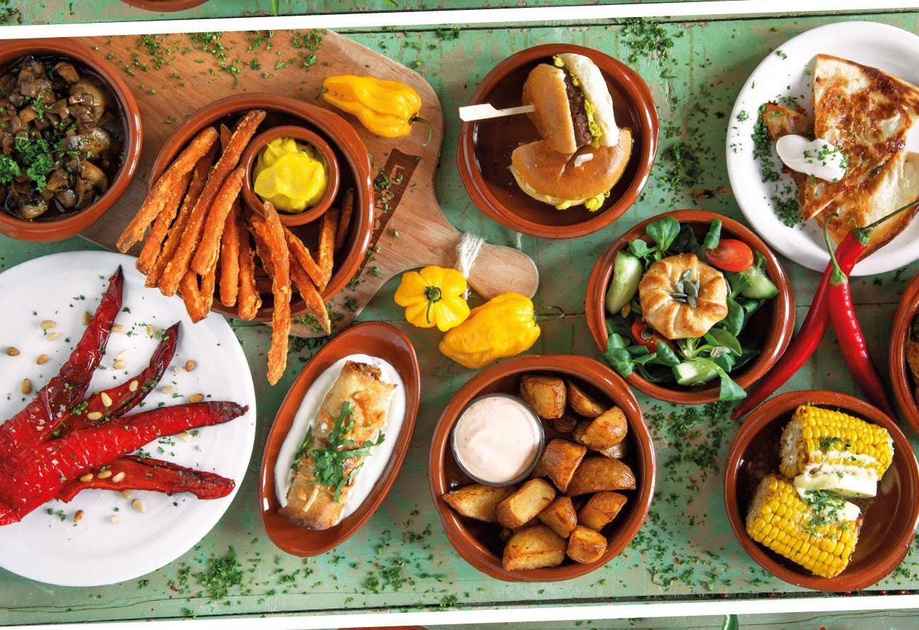 Nieuwe menukaart La Cubanita