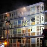grote brand appartement
