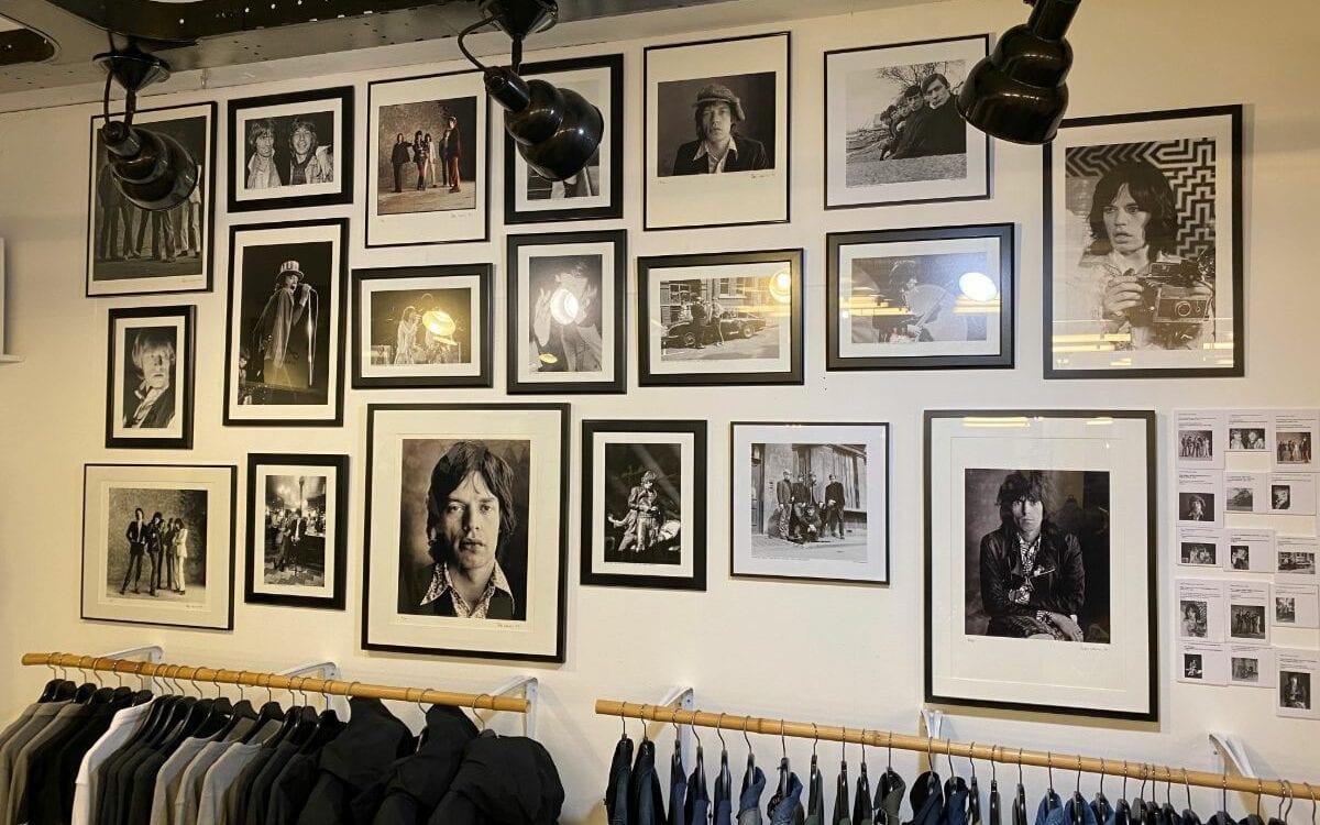 unieke foto expositie Rolling Stones Unzipped bij Mansion24